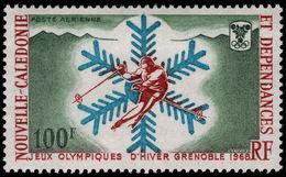 New Caledonia 1967 Winter Olympics Fine Lightly Mounted Mint. - New Caledonia