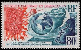 New Caledonia 1970 World Meterorological Organization Fine Lightly Mounted Mint. - New Caledonia