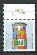 Germany  2005 The 150th Anniversary Of The Billboard Pillart. MNH - [7] Federal Republic