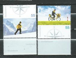 Germany 2005 Mail Delivery In Germany - Summer & Winter MNH - [7] Federal Republic