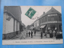 Carte Postale Hersin Coupigny, Magasin De Mineurs - Magasins