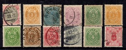 Islande Douze Classiques 1873/1902. Bonnes Valeurs. B/TB. A Saisir! - 1873-1918 Dépendance Danoise