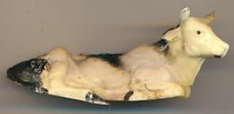 Figurine JIM (France) : Vache Couchée (4 Scans) - Beeldjes