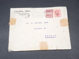 ESPAGNE - Enveloppe Commerciale De Barcelone Pour Madrid En 1929 - L 19456 - 1889-1931 Royaume: Alphonse XIII