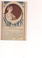 M6035 Pubblicitaria SOIE LOIE D'ACIER DIAMANT COLLIERS NON Viaggiata Cartoncino Tipo Cartolina - Pubblicitari