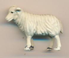 Figurine Animaux : Mouton, Brebis, Agneau (2 Scans) - Unclassified