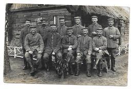 WWI - XX EME AK CORPS D ARMEE 16 EME REGIMENT - SOLDATS ALLEMANDS - CARTE PHOTO MILITAIRE - Guerre 1914-18