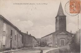CPA Courcelles-Chaussy - Le Bas Du Village - Frankreich