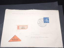 BOHÊME ET MORAVIE - Enveloppe En Recommandé Contre Remboursement De Prague Pour Strasbourg En 1944 - L 19467 - Lettres & Documents