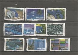 Année 2007 Timbres Pour Vacances (série Complète ) Oblitéré - Used Stamps