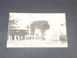 MADAGASCAR - Carte Postale - Tamatave - A La Direction Du Port -  Le Coup De Canon  Annonce L 'arrivée ....- L 19470 - Madagascar