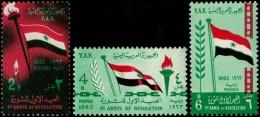 ~~~ Yemen 1963 -  Revolution - Mi. 285/287 ** MNH OG  ~~~ - Yemen