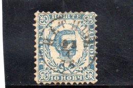 MONTENEGRO 1889-93 O PAPIER MINCE - Montenegro