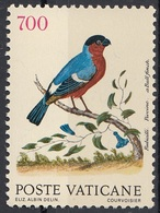 Vaticano 1992 Blf. 861  Uccelli Birds - Friguello - Fringilla Coelebs Linnaeus  Nuovo - Sparrows