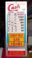 FDJ CASH MOBILE PLAFOND FRANÇAISE DES JEUX PUBLICITÉ PLV A SUSPENDRE NEUVE GRATTAGE - NOTRE SITE Serbon - Publicités