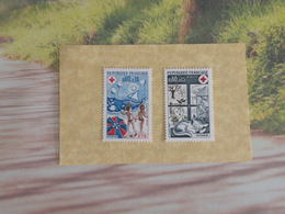 Timbres Neuf 1974 > N°1828/1829 - Y&T - La Croix Rouge, été Hiver - Coté 1,45 € - France