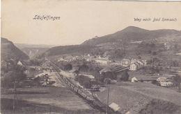 Läufelingen - Bahnhof Mit Zug - 1908         (P-144-70319) - BL Basle-Country