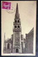 CPA 29 PLOUNEOUR TREZ - L'Eglise - Edit. Outin 46 - Réf U 43 - Frankreich
