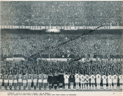 FOOTBALL : PHOTO, LE STADE DE LA LUZ, BENFICA DE LISBONNE, PORTUGAL, LE MUR, COUPURE REVUE (1964) - Collections