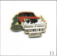 Pin's Land Rover 4X4 / Rassemblement Européen Au Domaine D'Imbours - Version N° 02. Est. Arthus Bertrand Paris. T602-11 - Rallye