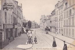 SAINT-GERMAIN EN LAYE - Rues De La République Et De Poissy - St. Germain En Laye