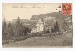 01 Dortan, Le Chateau Et Les Monts Du Jura (3698) - France