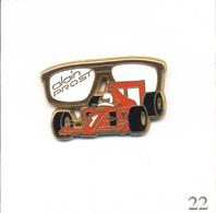 Pin's Automobile - Formule 1 / Prost Et Sa Ferrari 641 N° 1 En 1990. Est. Arthus Bertrand Paris. T603-22 - F1