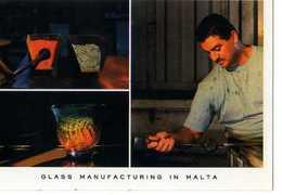 MALTA Local Glassblowers Have Earned An International Reputation For Craftsmanship, Souffleur De Verre - Malte