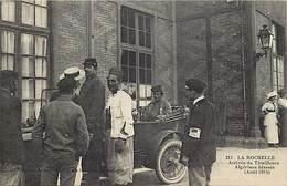 - Charente Maritime -ref-H57- La Rochelle -arrivee Tirailleurs Algeriens Blesses - Regiment - Guerre 1914-18 - Militaria - La Rochelle
