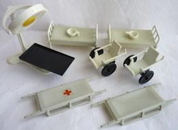 RARE PLAYMOBIL SALLE D'OPERATION EQUIVALENCE DE  BOITE 3238 1976 A 1978 EN LOOSE - Playmobil