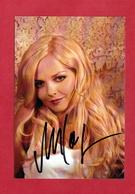 Annett Louisan (deutsche Sängerin  ),  Persönlich Signierte Autogrammkarte - Autographs