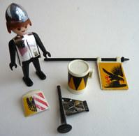RARE PLAYMOBIL KLICKY 3332 SOLDAT MEDIEVAL En Loose 1975-76 - Playmobil