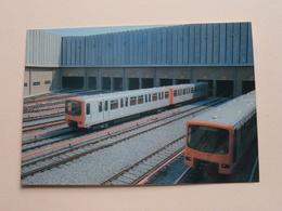 BRUSSEL METRO BRUXELLES Reeks D ( 28 - 36 ) Anno 19?? ( Zie Foto Voor Details ) ! - Metro