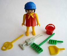 RARE PLAYMOBIL KLICKY 3315 FEMME DE MENAGE En Loose 1976-79-80 - Playmobil