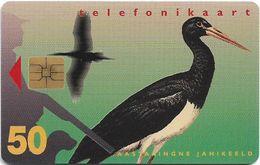 Estonia - Eesti Telefon - Black Stork - 04.1997, 50.000ex, Used - Estonia