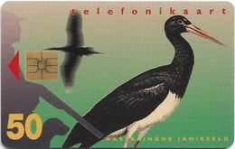 Estonia - Eesti Telefon - Black Stork - 04.1997, 50.000ex, Used - Estonie