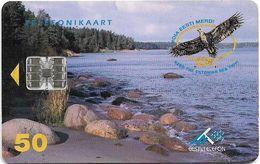 Estonia - Eesti Telefon - Keep The Estonian Sea Tidy! 05.1997, 50.000ex, Used - Estonie