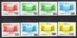 118 490 - AZERBAIGIAN 1993 , Serie  SCIOLTA Unificato N. 126/133  Nuova *** - Azerbaïjan