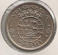 Moeda Angola Portugal - Coin Angola 5 Escudos (5$00) 1972 - BELA - Angola