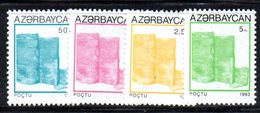 166 490 - AZERBAIGIAN 1993 , Serie  Unificato N. 89/92  Nuova *** - Azerbaijan