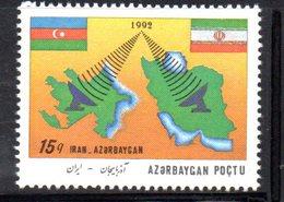 167 490 - AZERBAIGIAN 1993 , Serie  Unificato N. 115  Nuova *** - Azerbaijan