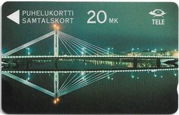 Finland (Sonera) - The Bridge Jatkankynttila - 10FINA - 07.1992, 50.000ex, Used - Finland
