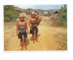 Laos Minorité Ethnique Jeunes Femmes IKO TB CPM 165 X 120 Mm 2 Scans - Laos