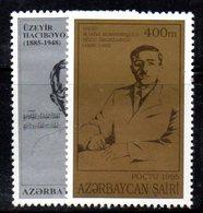 165 490 - AZERBAIGIAN 1995 , Serie  Unificato N. 243/244  Nuova *** - Azerbaijan