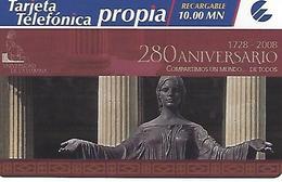 ETECSA Propia- Local And NationaL Phonecard Rechargeable 10.00 MN - Cuba - Cuba
