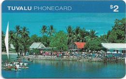 Tuvalu - Waterfront $2, OITIA, 07-1995, Used - Tuvalu