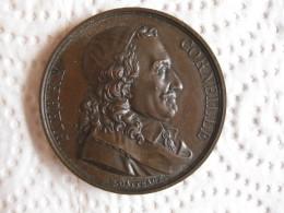 Medaille 1816 Pierre Corneille, Galerie Grands Hommes Français, Par Gatteaux - France
