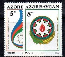 174A 490 - AZERBAIGIAN 1994 , Serie  Unificato N. 116/117  Nuova *** - Azerbaïjan