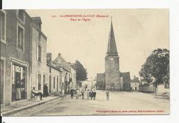 St Christophe  Du Lucat  Place De L'Eglise - France