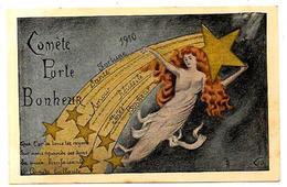 CPA Astronomie Comète Femme Girl Women Non Circulé - Astronomia